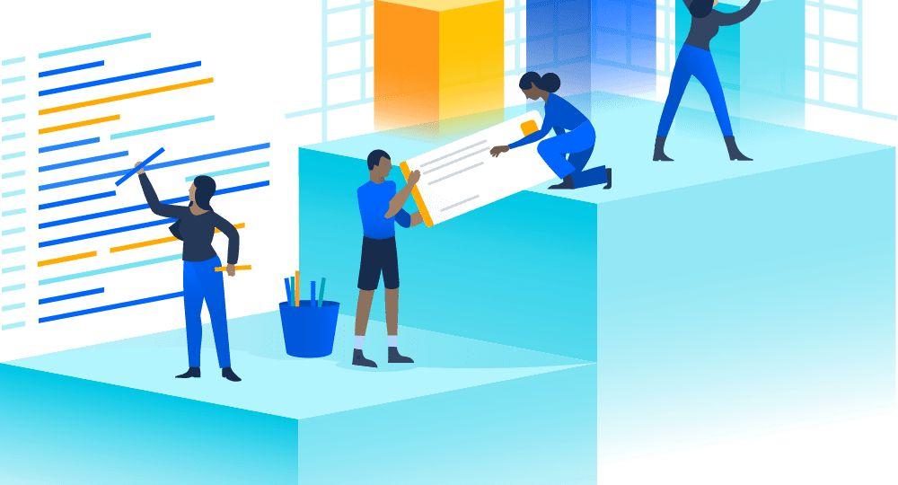 Todos los productos Atlassian se conectan entre si