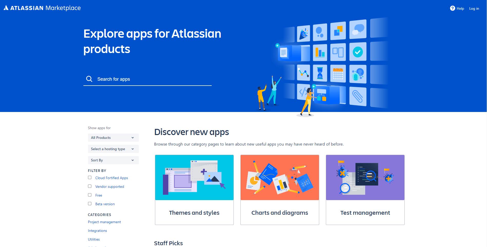 Atlassian Marketplace Website