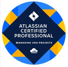 Atlassian Certified Professional Managing Jira Projects Logo