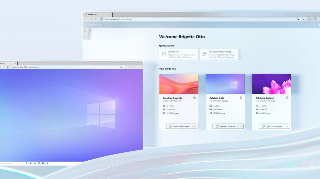 Windows 365 escritorio